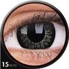 farbige Linsen big eyes black