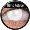 farbige Linsen Blind White