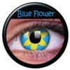 farbige Linsen Blue Flower