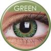 farbige Linsen 3 tones green