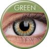 farbige Linsen glamour green