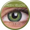 farbige Linsen fusion green yellow
