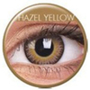 farbige Linsen fusion hazel yellow