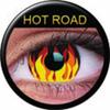 farbige Linsen Hot Road