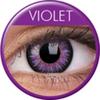 farbige Linsen glamour violett
