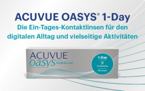 Verpackung Acuvue Oasys 1 Day