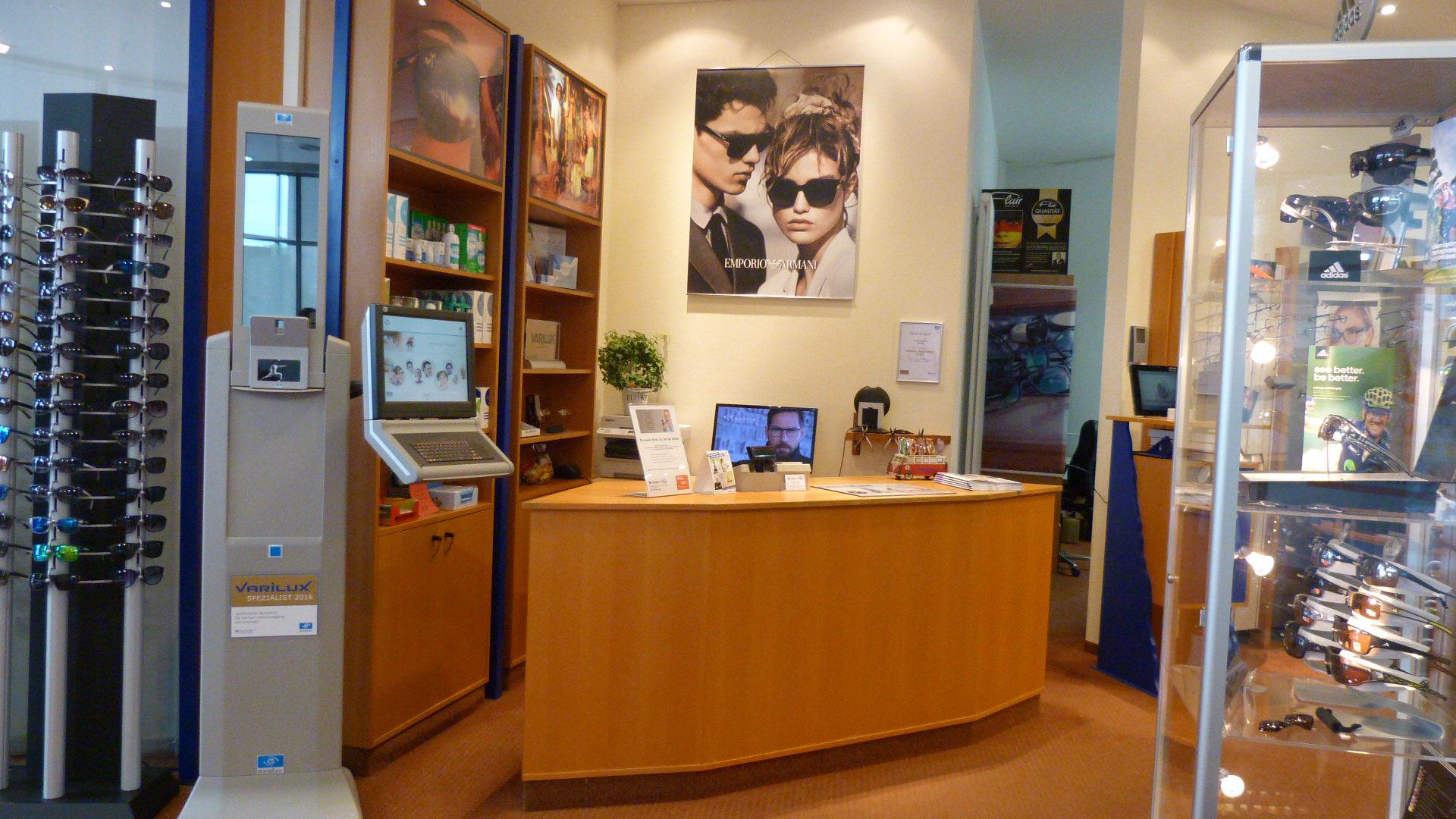 Herzlich Willkommen, in der Brillen Galerie .