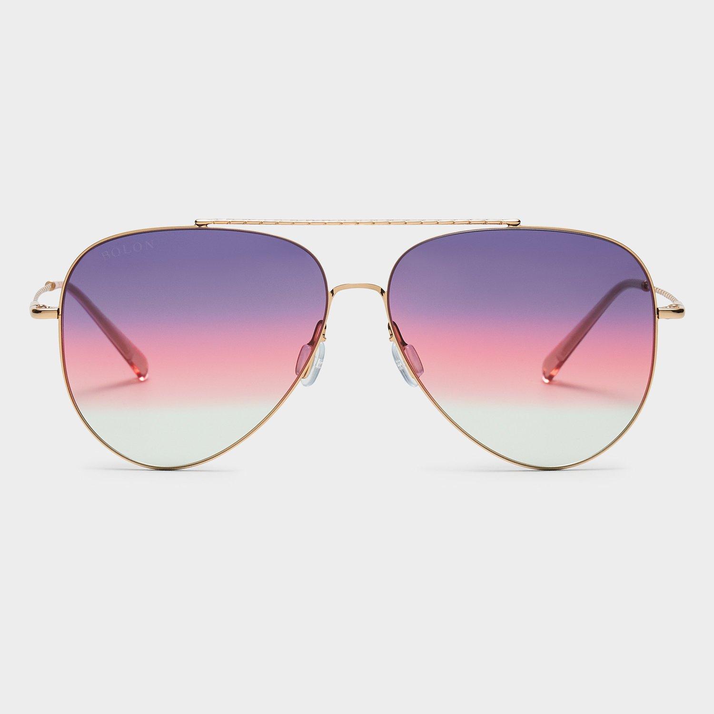 Bolon Sonnenbrille Mod. 8076 Verlauf violett-rote