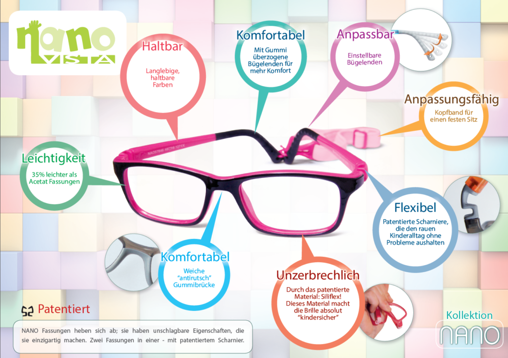Funktion Nano Kinderbrillen