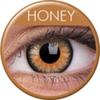 farbige Linsen glamour honey