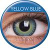 farbige Linsen fusion yellow blue